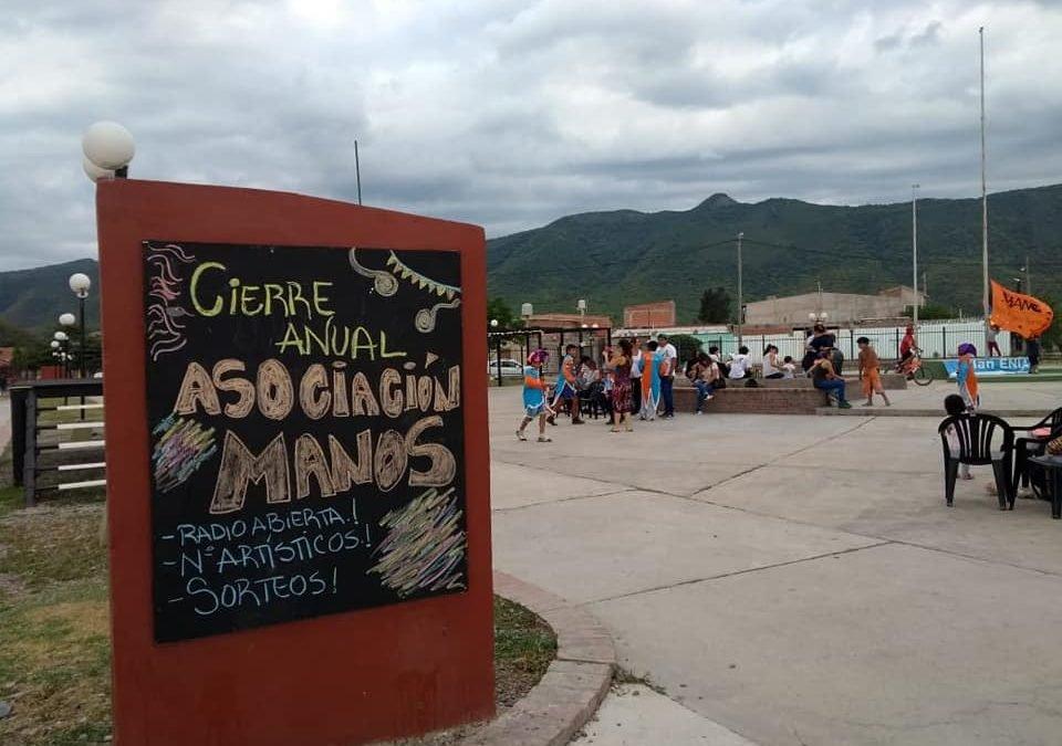 MANOS CELEBRA EL CIERRE DE ACTIVIDADES DEL CENTRO SOCIO CULTURAL